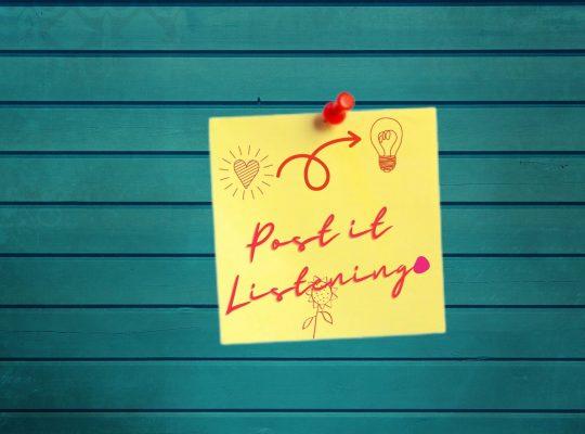 Post-it Listening