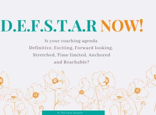 Coaching agenda