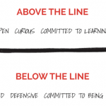 Leader! Where are you located? Above the Line or Below the Line.